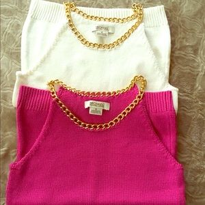 Michael Kors Tops - NWOT - Michael Kors sleeveless sweater tops